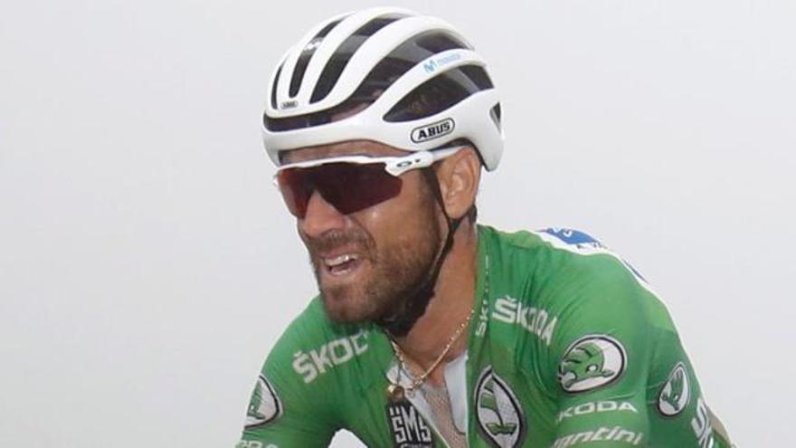 Alejandro Valverde se acerca al liderato