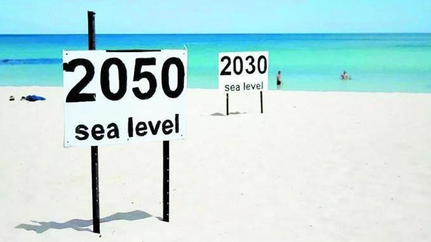 Així serà la pujada del mar a Espanya