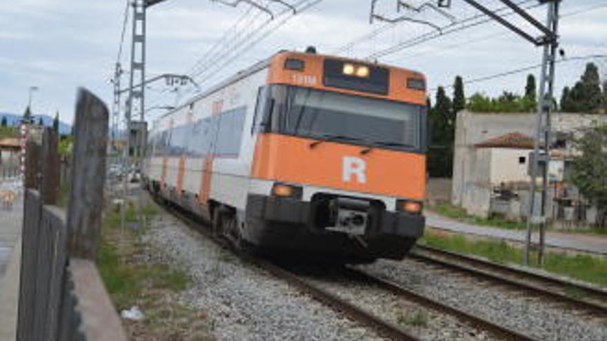 Retards en la línia de Renfe Figueres - Portbou