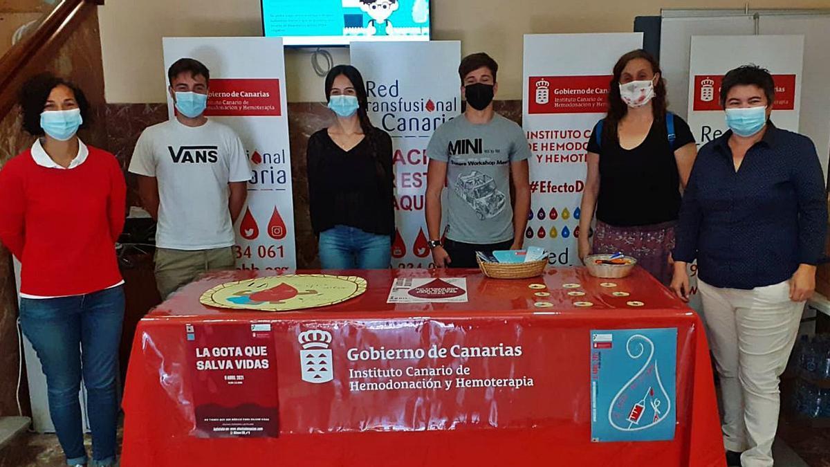 Donación de Sangre en las Teresianas   LP/DLP