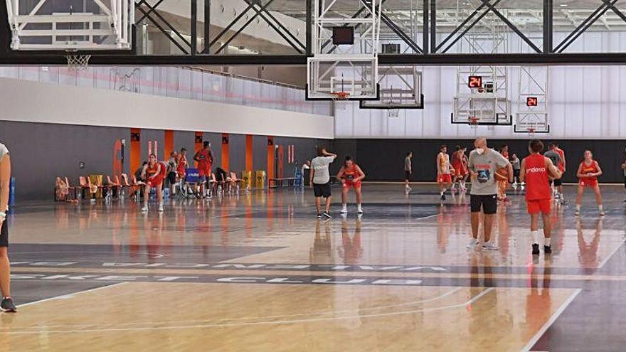 Las promesas del baloncesto español se concentran en l'Alqueria