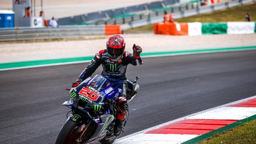 Así queda la parrilla de salida de MotoGP para el GP de España