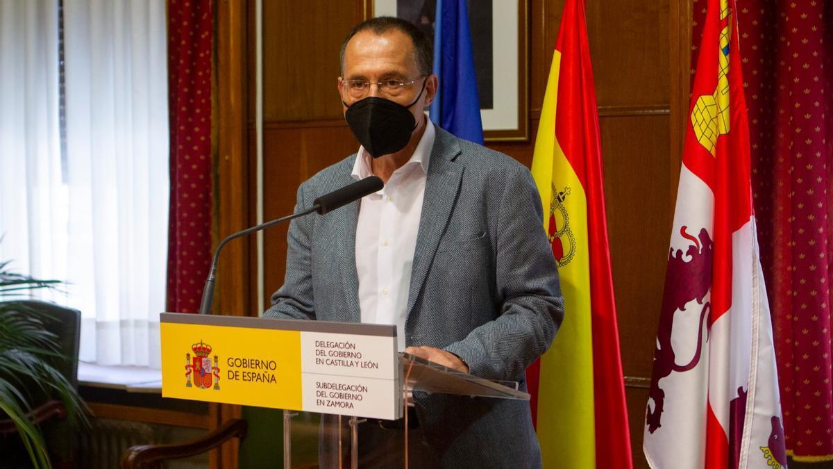 Ángel Blanco, subdelegado del Gobierno en Zamora