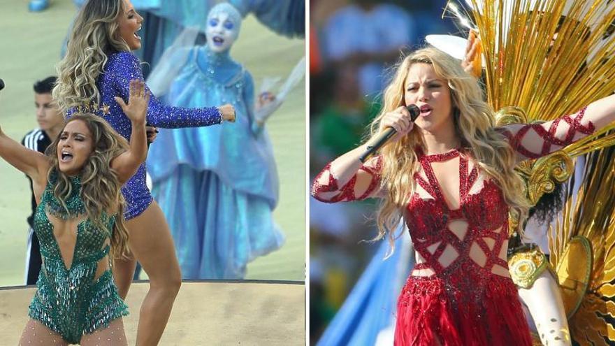 Jennifer López y Shakira actuarán en la Super Bowl