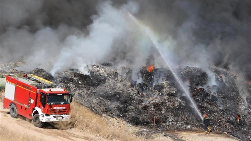 Urbanismo impone una multa a Recicor de 45.000 euros por el incendio del 2017
