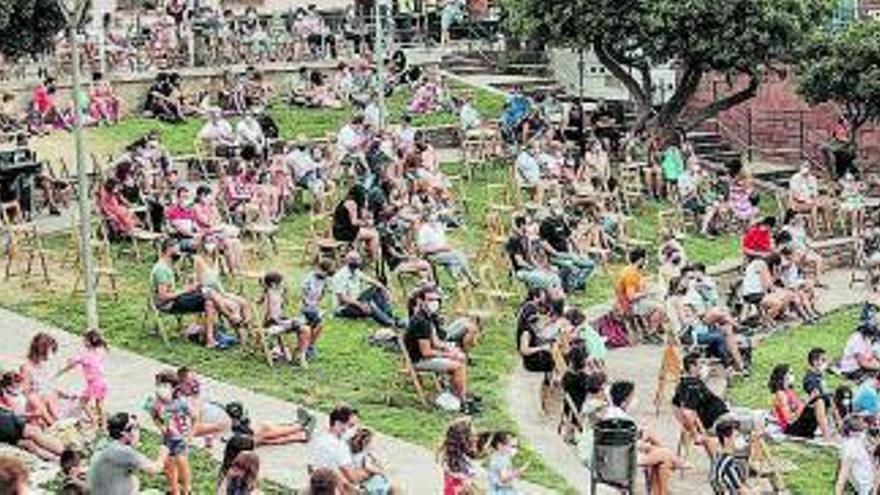 Els festivals de música Pas i Pas Doble atrauen artistes consolidats i 4.000 espectadors