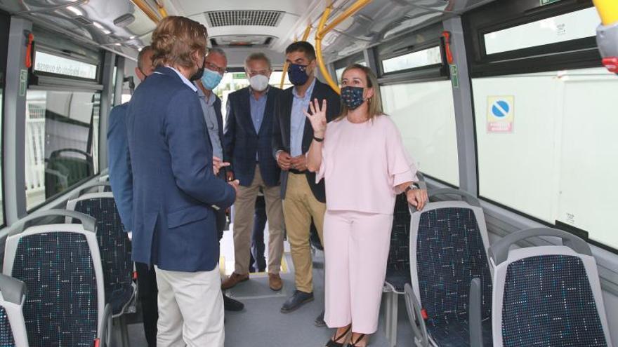 El tranporte metropolitano en Ourense: buses nuevos, sostenibles, con 75 rutas y 480 paradas