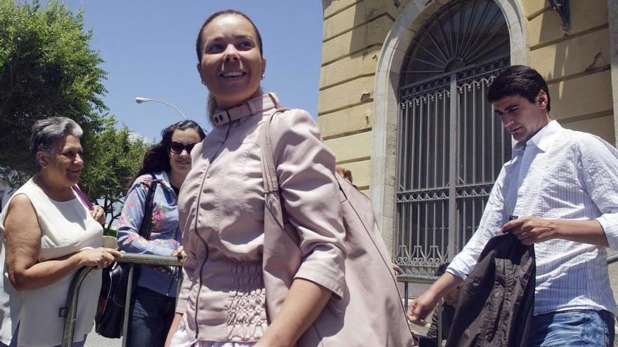 María José Campanario, ingresada en un psiquiátrico