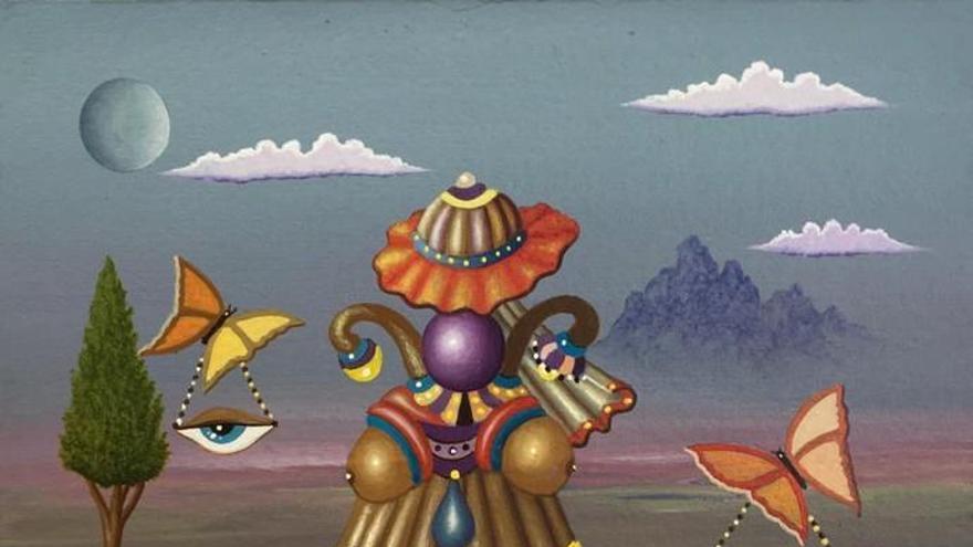 El surrealismo de Paco Juan Déniz, en el Club La Provincia