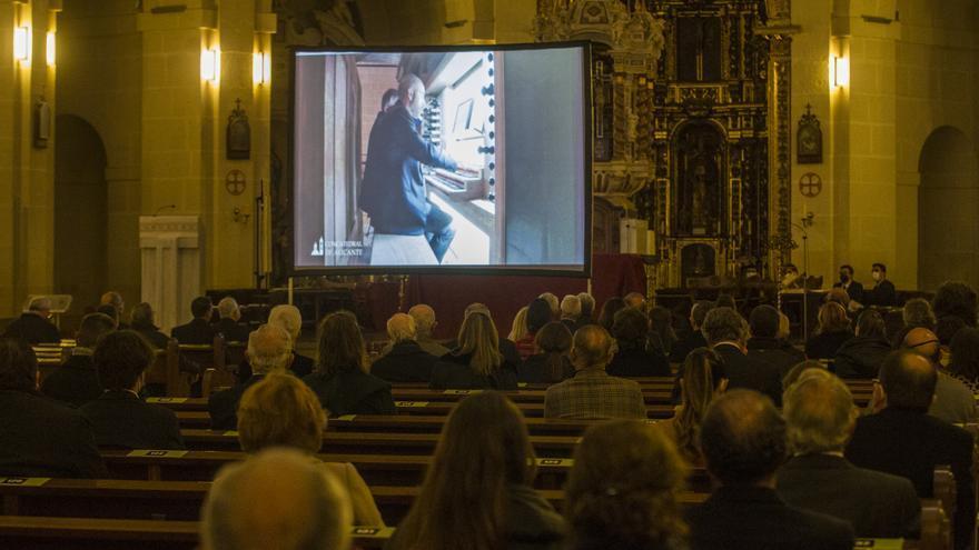 Bendición del órgano de la Concatedral de San Nicolás