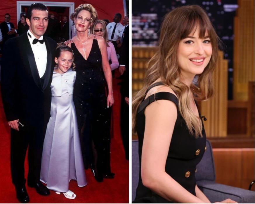 Dakota, la hija de Don Johnson y Melanie Griffith, muy popular por ser la sombra de Grey.