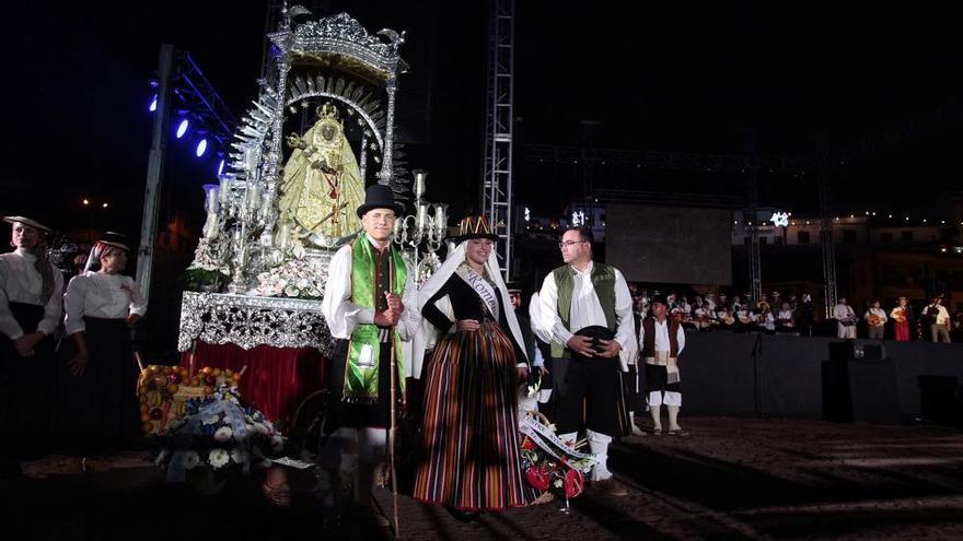 Ofrenda folclórica a la Virgen de Candelaria, Patrona de Canarias