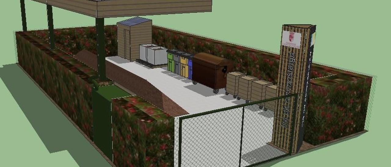Modelo piloto de las pequeñas plantas de compostaje que el COR va a abrir en la Safor.