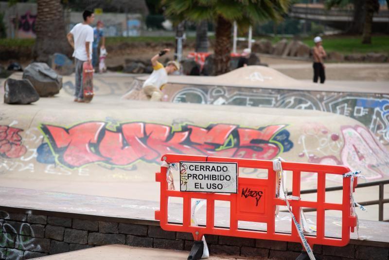 Finalizan las obras en el parque de La Granja