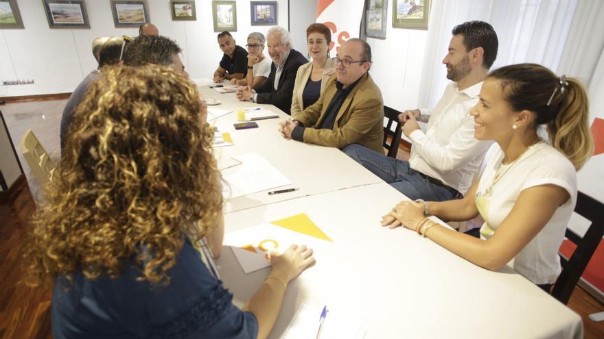 La junta directiva de Ciudadanos Avilés, disuelta tras dos nuevas dimisiones