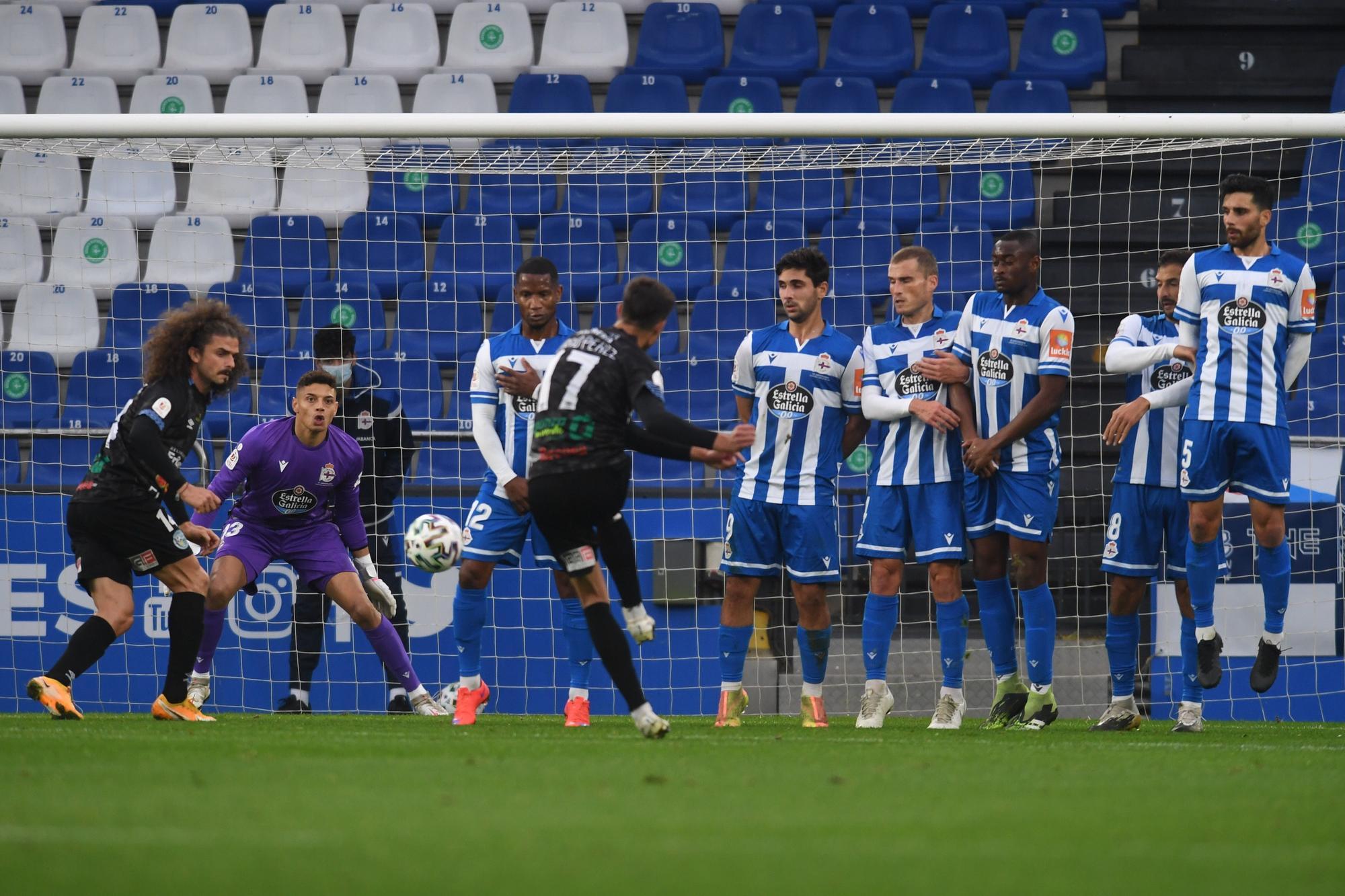 Copa del Rey | Deportivo 1 - 0 El Ejido