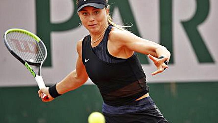 Una imparable Paula Badosa es desfà de Kovinic i ja és a tercera ronda a París