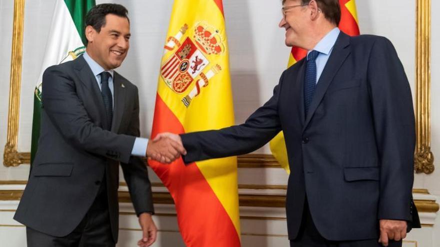 Galicia y otras 5 autonomías contraprograman una cumbre sobre financiación tras el pacto Moreno-Puig