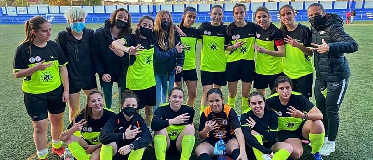 El segundo equipo del Càrcer goleó 1 a 6 al Paiporta con dobletes de Nuria Márquez y Sara Martínez.   LEVANTE-EMV