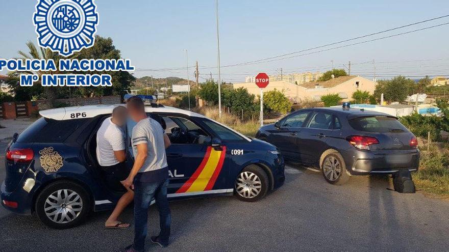 Detenido en La Vila un fugitivo por asaltar un local de apuestas donde hubo un muerto
