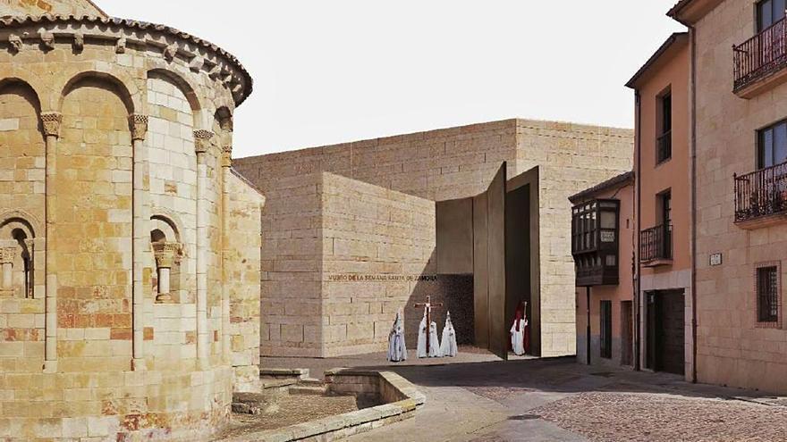 Los técnicos del Ayuntamiento de Zamora avalan el proyecto del Museo de Semana Santa