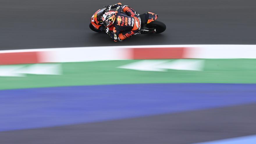 Pedro Acosta, a solo 13 milésimas de segundo de la 'pole' en San Marino
