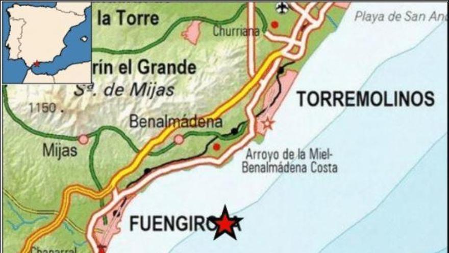 Registrado un terremoto de magnitud 4.1 frente a las costas de Benalmádena