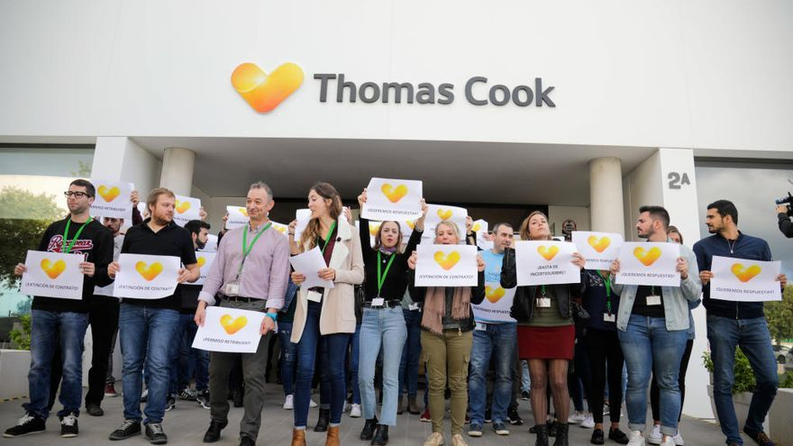 CCOO tira la toalla en la negociación del ERE de Thomas Cook en la isla