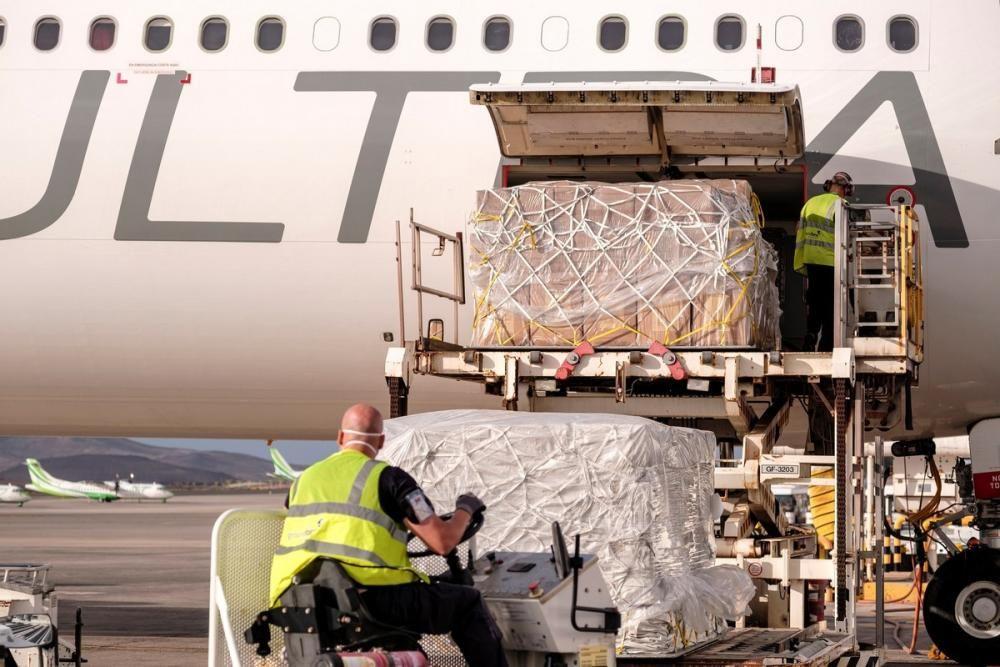 LLega a Gran Canaria undécimo avión con ...