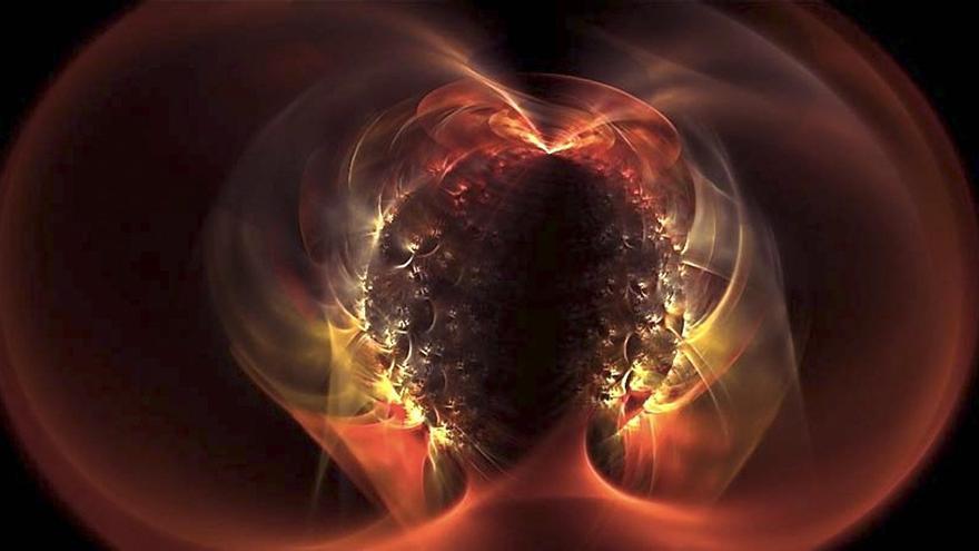 Las montañas de las estrellas de neutrones son milimétricas debido a la inmensa gravedad