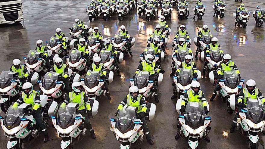 Ourense, la primera parada en Galicia en la ruta de los futuros guardias de Tráfico