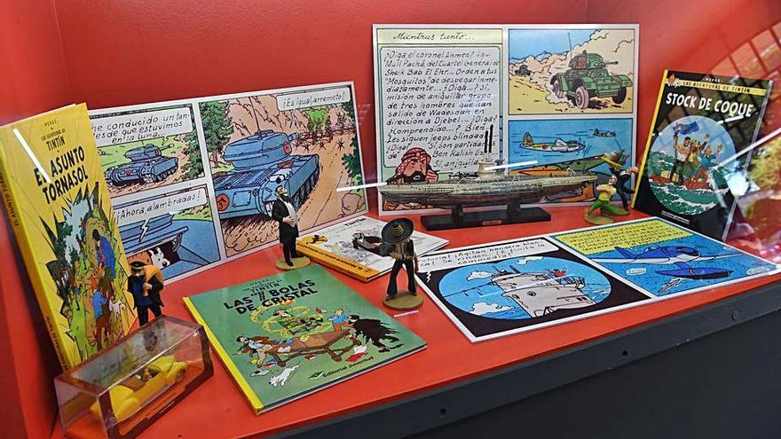 La guerra en las viñetas de Tintín