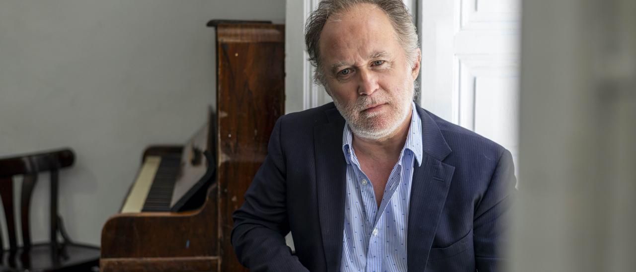 Luis Bermejo, intérprete de la obra 'Los que hablan'. Laura Ortega Pin