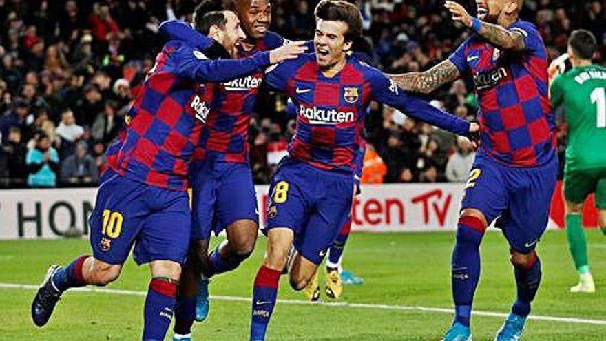 Messi le regala el triunfo a Setién