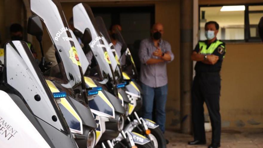 Torrent adquiere media docena de motos eléctricas