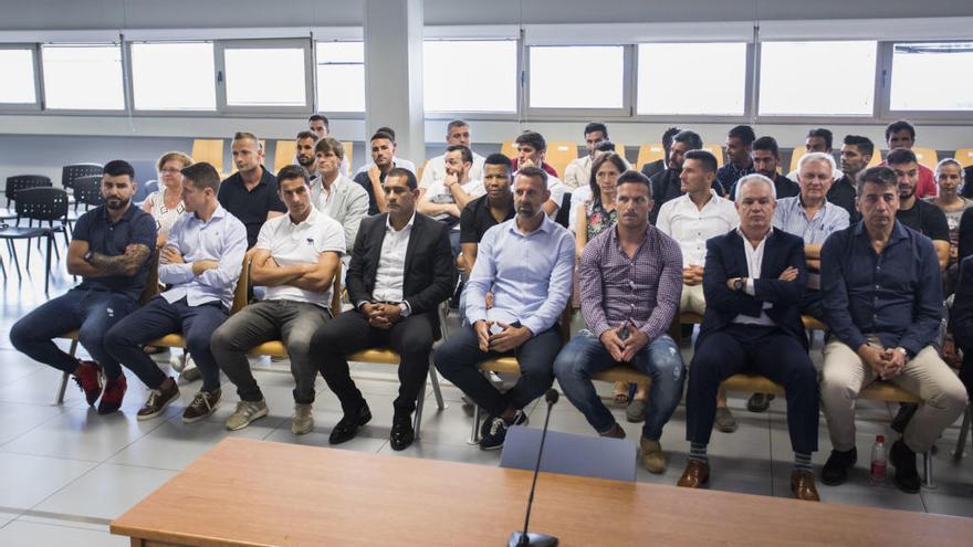 La Fiscalía recurre la absolución de los 36 jugadores del Levante-Zaragoza