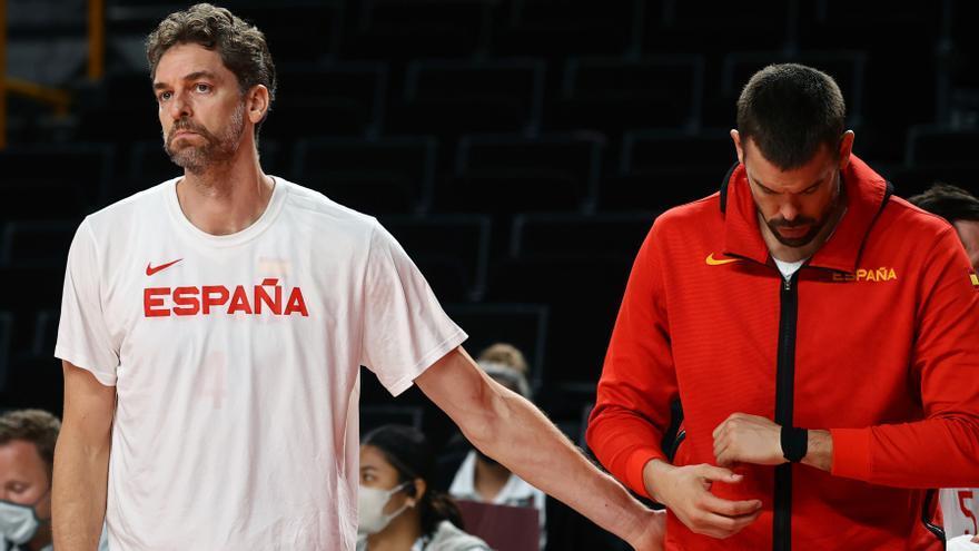 Pau y Marc Gasol dejan la selección española