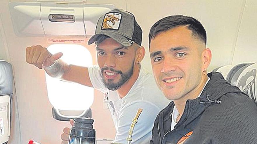 Lío con Maxi y Alderete antes del Camp Nou