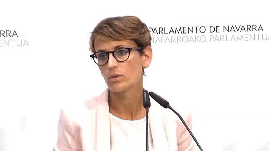 PSN, Geroa Bai y Podemos acuerdan un Gobierno de coalición en Navarra