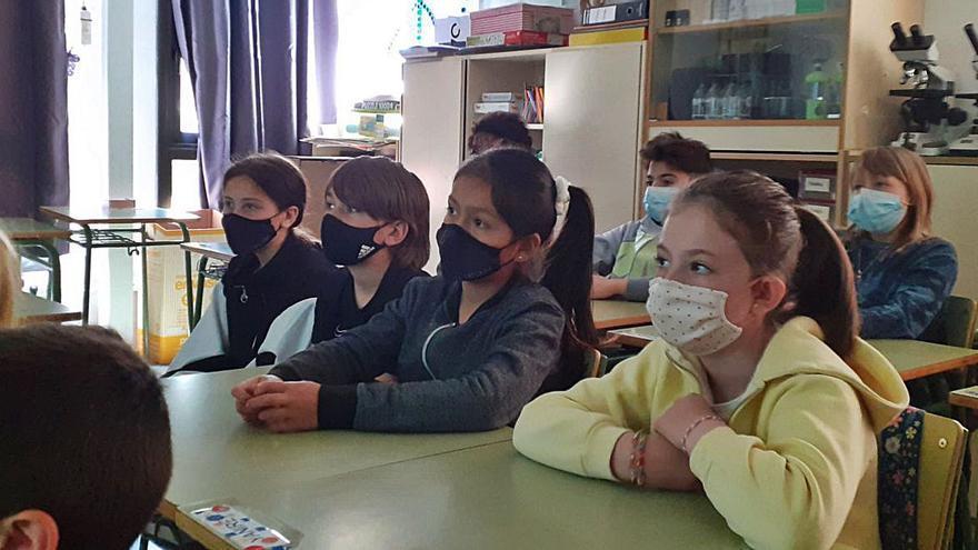 Unió de Pagesos i Dipsalut divulguen els productes agraris a les escoles