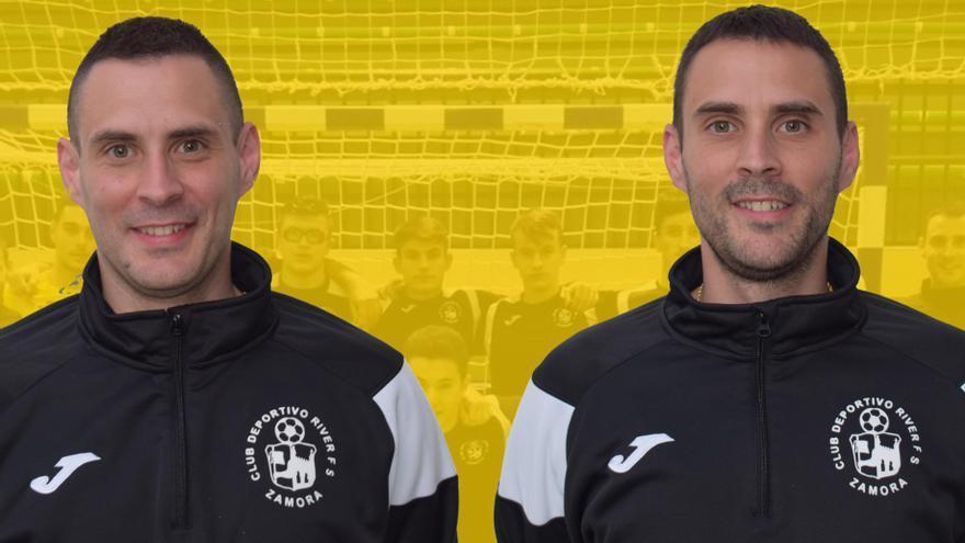 Los hermanos Cala entrenarán al División de Honor del River Zamora FS