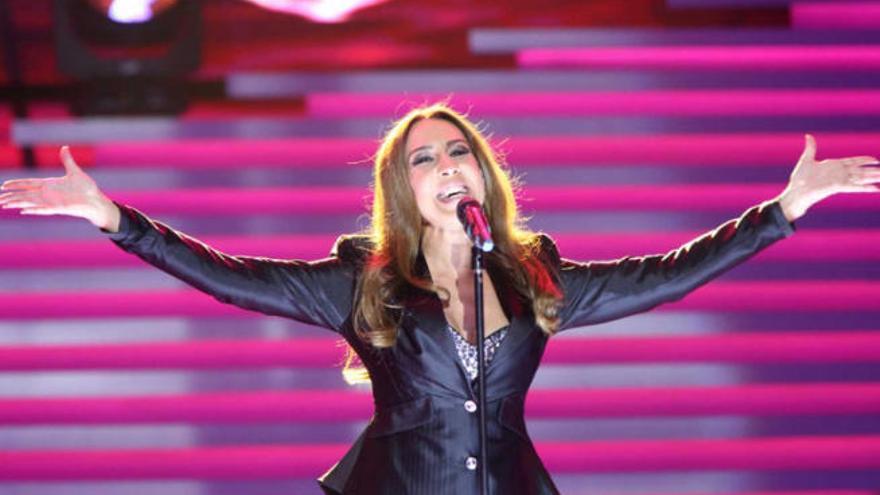 La Palma acoge una actuación especial de Mónica Naranjo con motivo del Isla Bonita Love Festival 2019
