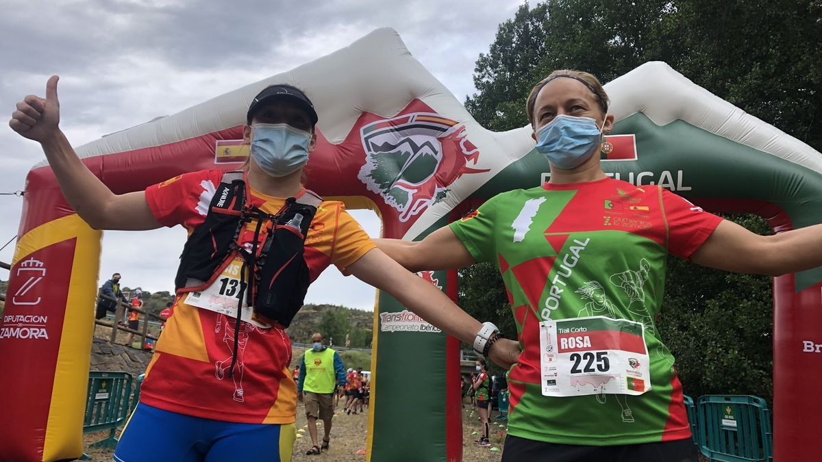 Montalvo y Sebastiao, vencedores en la distancia intermedia de 20 kilómetros