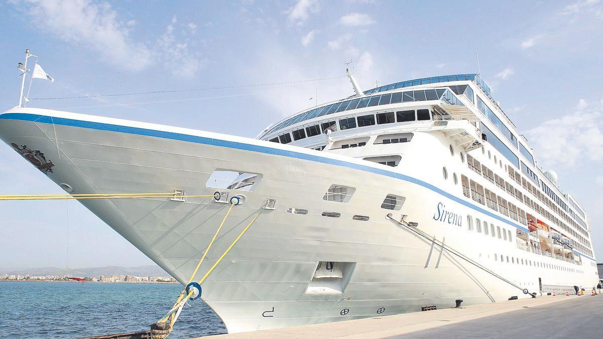 Uno de los últimos buques que recaló en PortCastelló durante el ejercicio del 2019.
