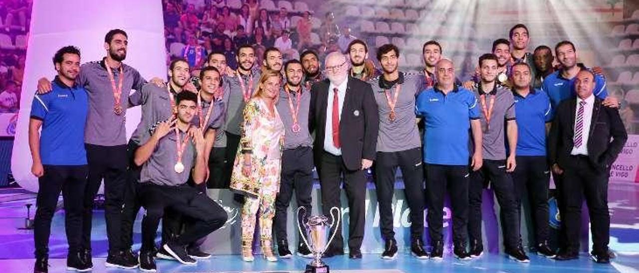 Egipto se impuso en el duelo por el tercer puesto a Portugal. // Marta G.Brea