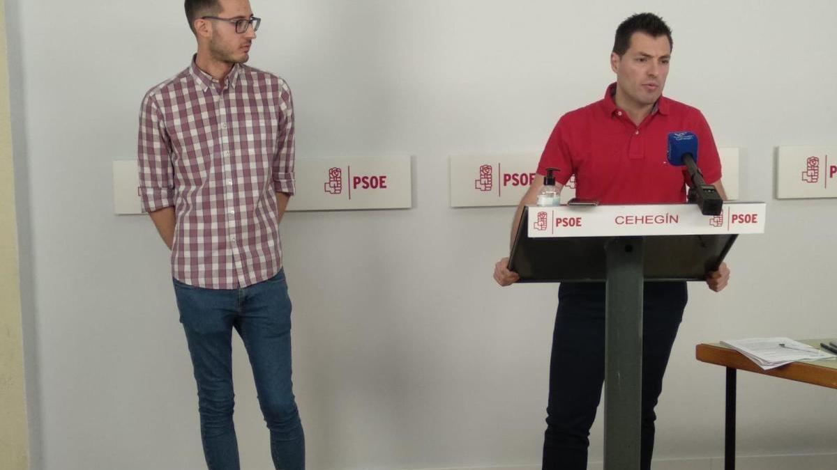 José Rafael Rocamora (PSOE) hace balance de «un año perdido para Cehegín»
