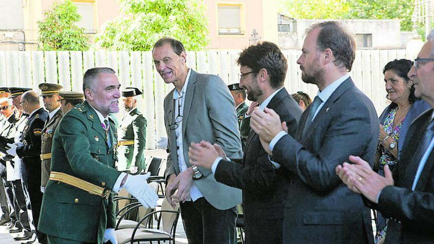 """El capitán de Langreo, a los agentes en Cataluña: """"Tienen nuestro apoyo"""""""