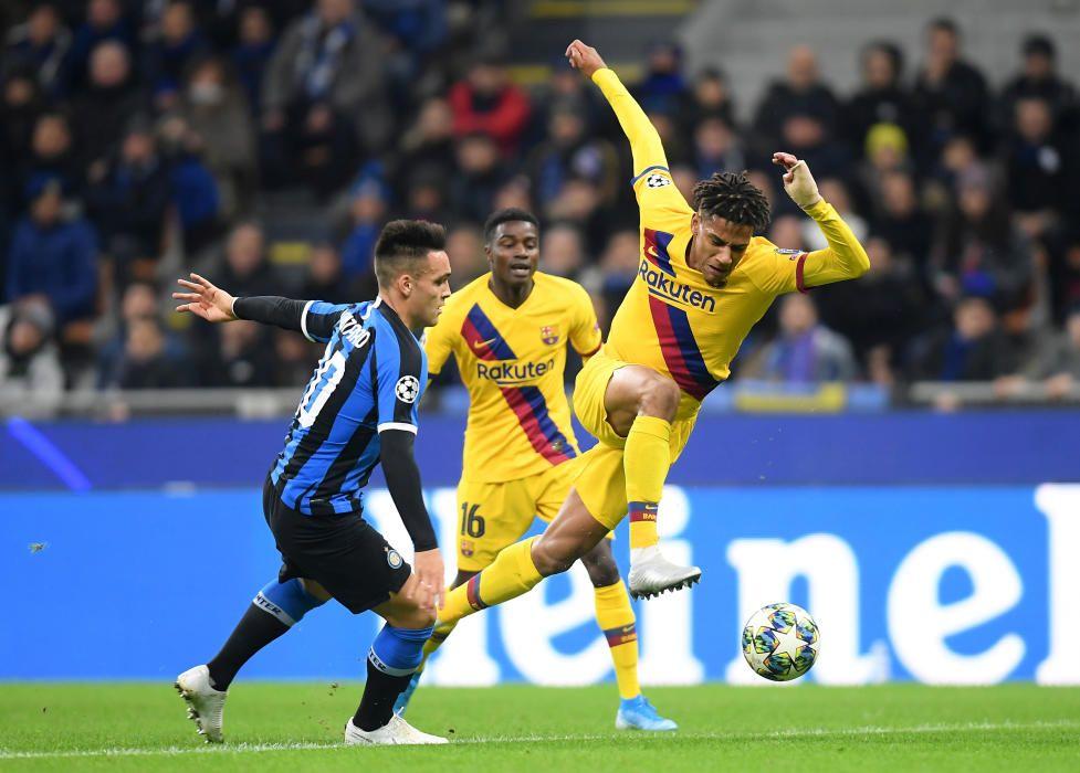 Las imágenes del Inter - Barça
