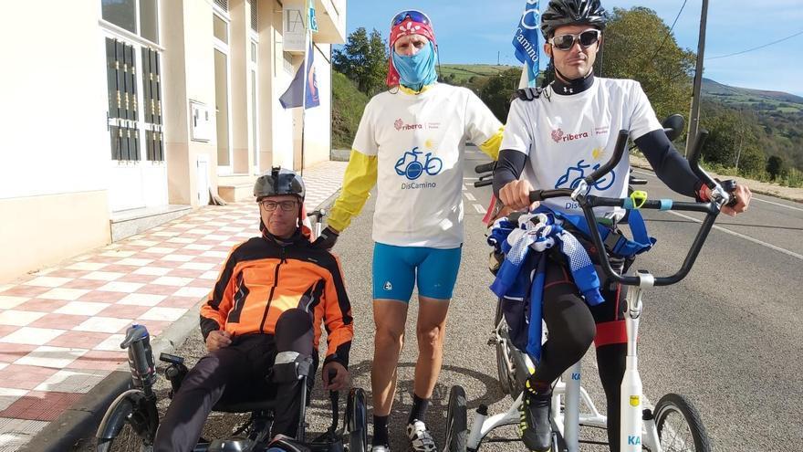 De Noruega a Santiago: un peregrinaje de 5.400 kilómetros para sensibilizar sobre el ictus