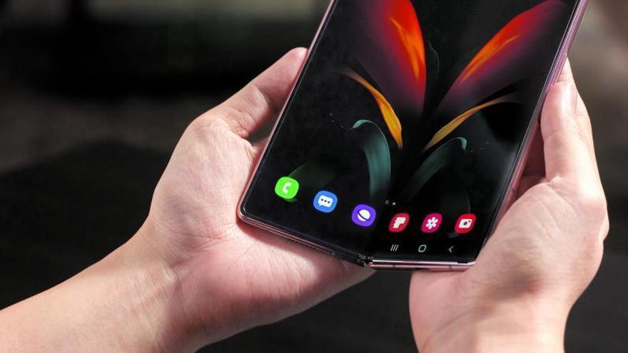 Un móvil que parecen dos